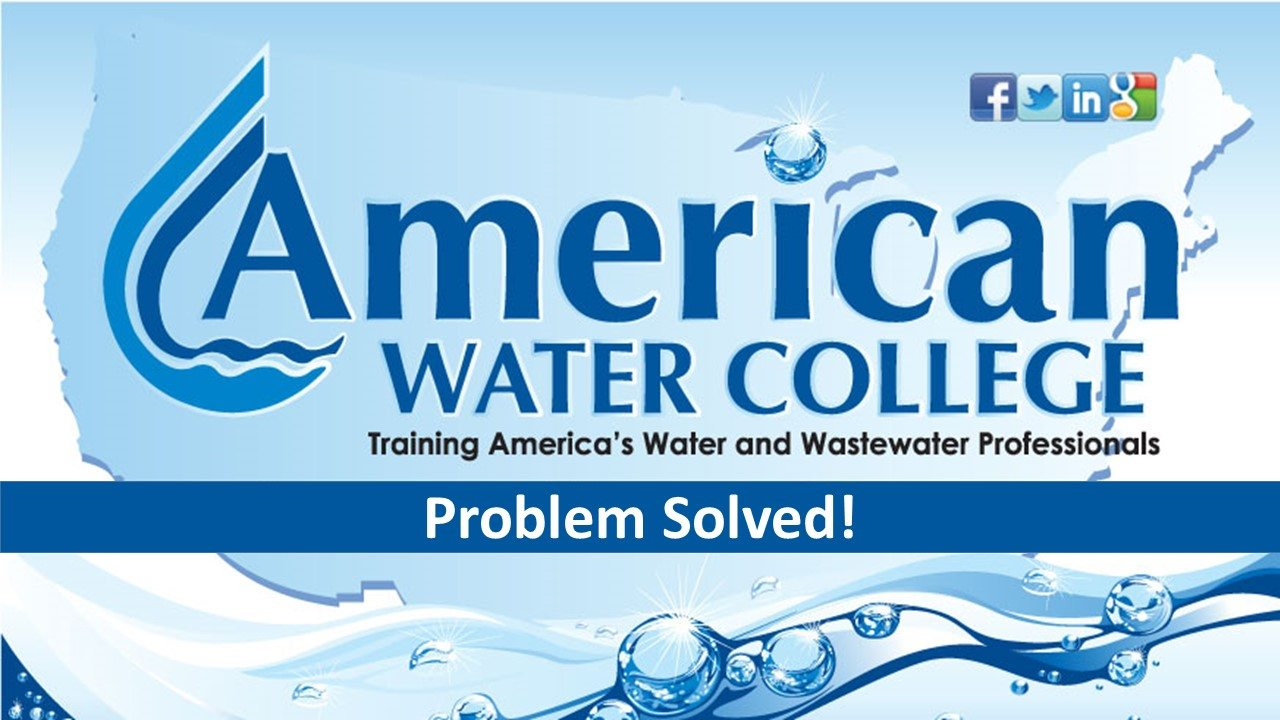 Volume Problem – Wastewater Math