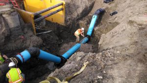 Water Main Installation
