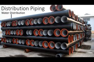 Water Distribution | Pipe material
