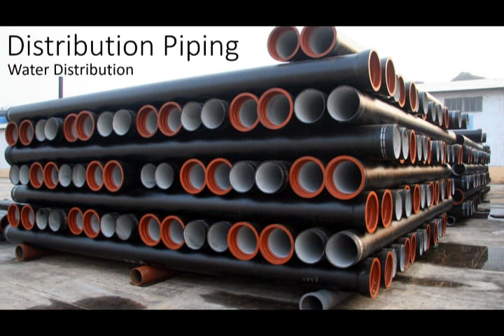 Water Distribution | Pipe Joints