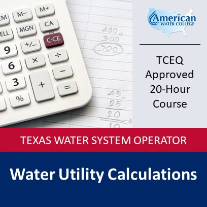 Texas Water Utility Calculations
