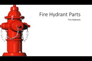 Water Distribution | Fire Hydrant Parts and Classification