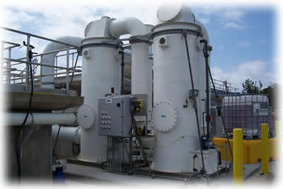 Wastewater Treatment   Odor Control Methods