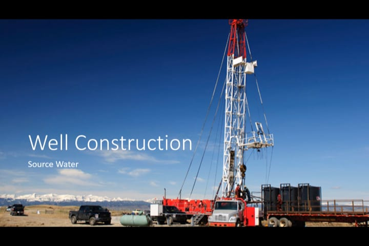 Water Treatment | Well Construction