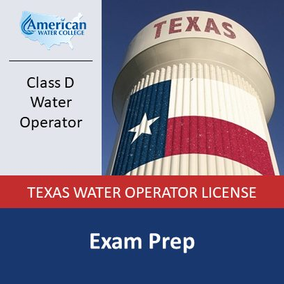 Texas Water Operator Exam Prep – D