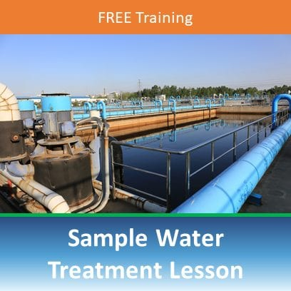 Sample Water Treatment Lesson