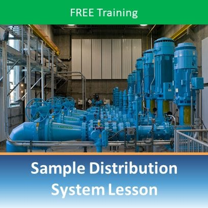 FREE Sample Distribution System Lesson