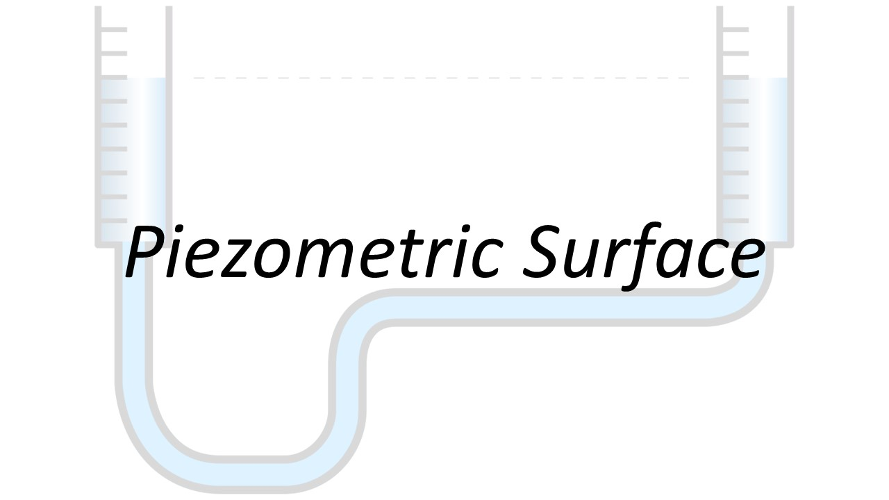 Applied Hydraulics | Piezometric Surface